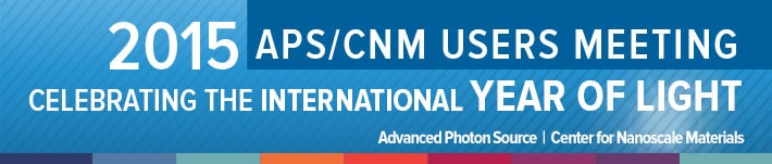 2015 APS/CNM User Meeting