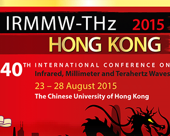 40th International Conference on Infrared, Millimeter, and Terahertz Waves