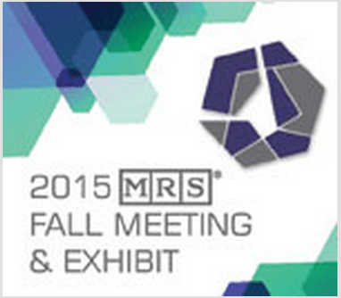 2015 MRS Fall Meeting & Exhibit