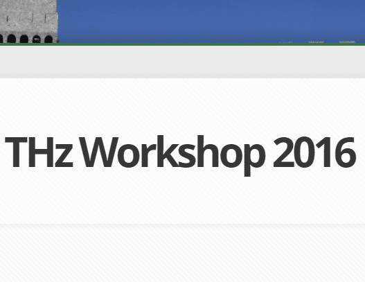 THz Workshop 2016